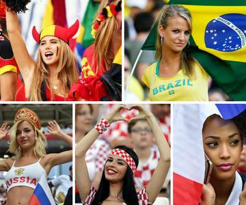 Copa Mundial de la FIFA 2018 - ¿Quiénes son las mejores fanáticas del fútbol?