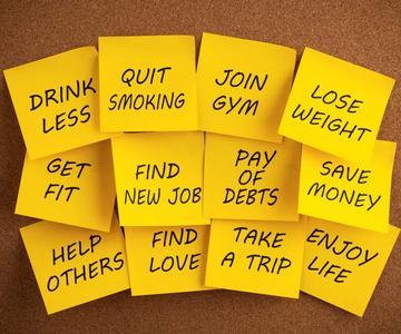 4 resoluciones de citas de Año Nuevo