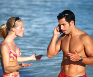 Cuando no deberías tomarte unas vacaciones juntos