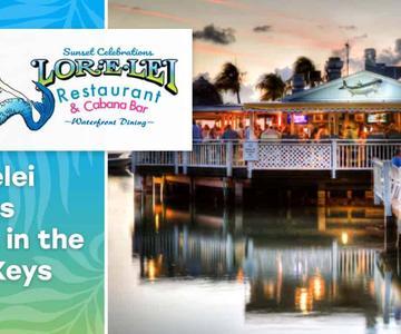 """Premio """"Editor's Choice"""": El Lorelei Restaurant & Cabana Bar encanta a las parejas con vistas impresionantes de la bahía en los cayos de la Florida"""