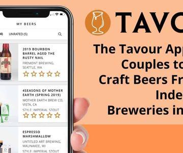 """La aplicación """"Tavour"""" invita a las parejas a probar las cervezas artesanales de más de 650 cervecerías independientes de los EE.UU."""