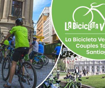 La Bicicleta Verde invita a las parejas a ver Chile desde una perspectiva diferente, haciendo un recorrido en bicicleta en Santiago
