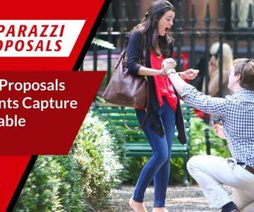 Las propuestas de los paparazzi ayudan a los clientes a capturar momentos inolvidables