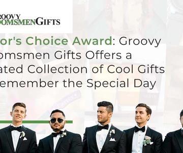 """El premio """"Editor's Choice"""": Groovy Groomsmen Gifts ofrece una curada colección de regalos geniales para recordar el día especial"""