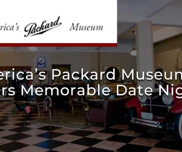 """El premio """"Editor's Choice"""": El Museo Packard de América ofrece una noche memorable para los amantes de los coches"""