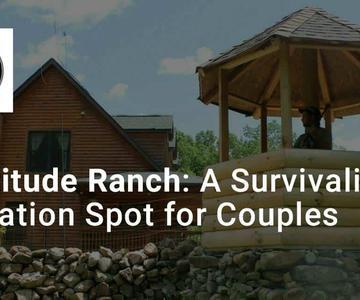 El Rancho Fortaleza es también un búnker de supervivencia y un lugar de vacaciones al aire libre para las parejas que se preparan para el futuro.